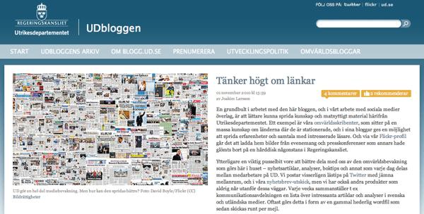 Tekniken påverkar tonen – om UDbloggen