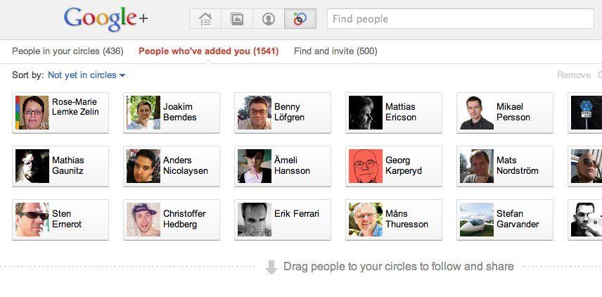 Googles kretsar suger, Facebooks grupper duger!