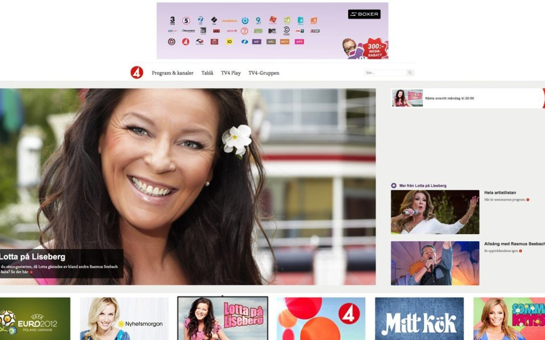 Tjoho! TV4 goes responsive
