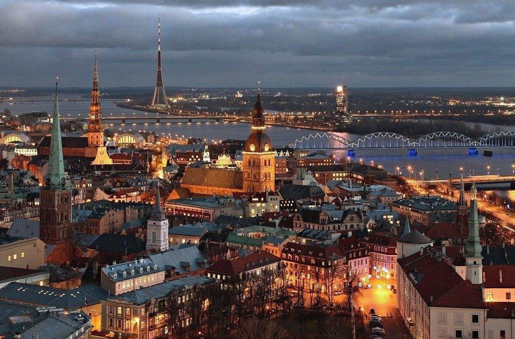Jag drar till Riga med statsministern