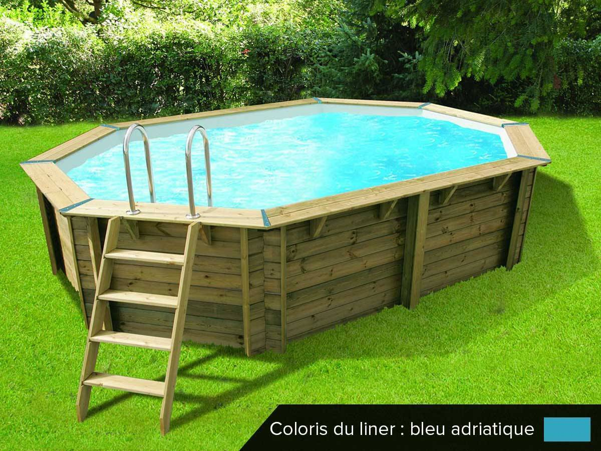 Piscine Tropic Junior Piscine Bois Hors Sol Sans Dalle Beton