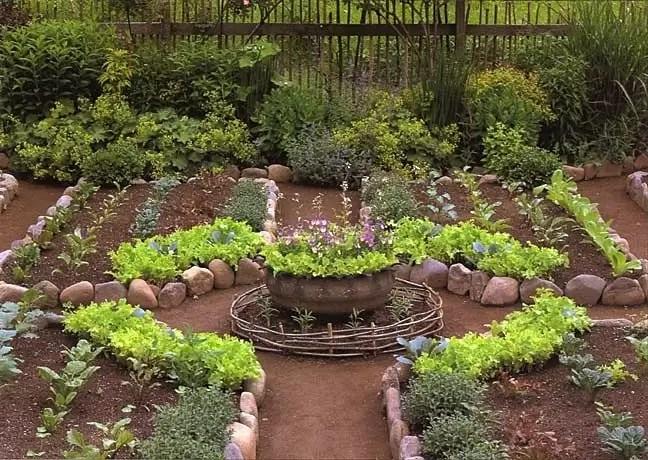 Harmonize seu jardim com uma Espiral de Ervas