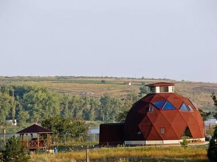 Casas geodésicas: mais formas com menos custos