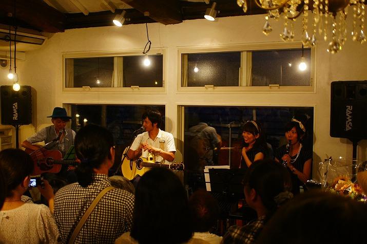 音楽三昧|犬山swan's cafe4周年ライブ