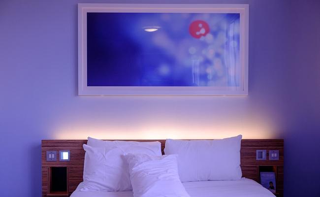 Quelle couleur de peinture pour une chambre  Principe et ides