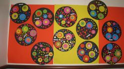 Kandinsky circles realisations 2015