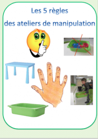 Règle ateliers manipulations
