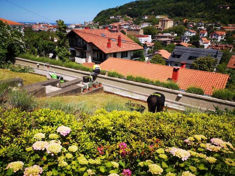 ardineritza lanak Jardineria en Donostia садоводство в доности