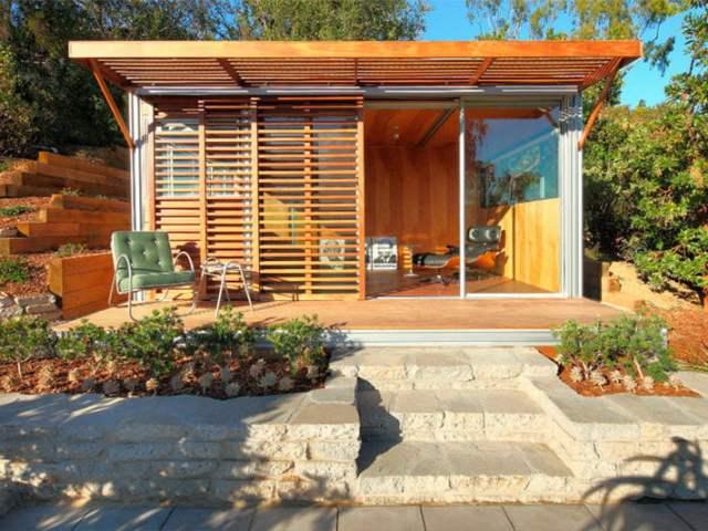 Despacho propio, ecológico y en el jardín