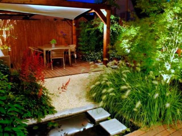 Iluminación de Jardines y Exteriores