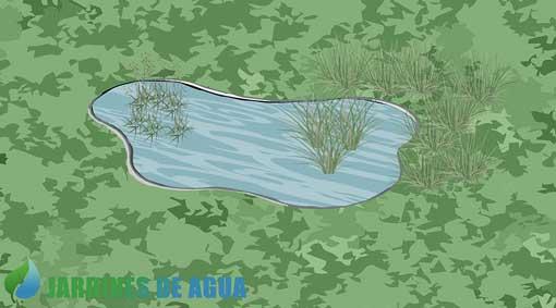 Colocación de estanque prefabricado