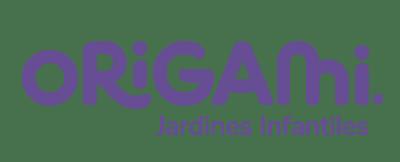 Logo Origami lila