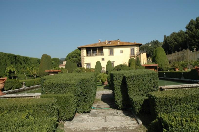 Del viaje a los jardines de la ToscanaVilla Gamberaia  Jardines sin fronteras