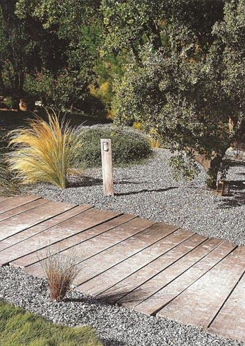 Revue de presse sur des crations de jardins paysagers
