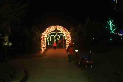 Arche illuminée