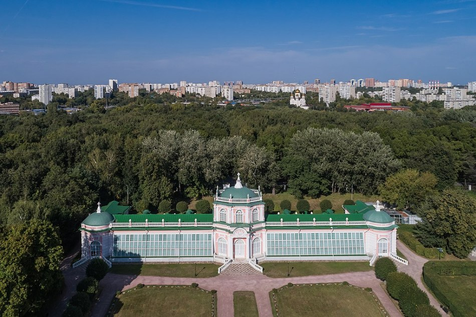 L'orangerie du Domaine de Kuskovo à Moscou