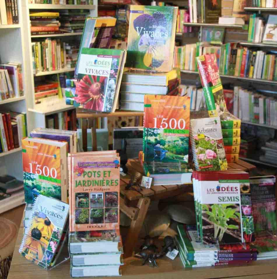 Quelques livres du jardinier paresseux.
