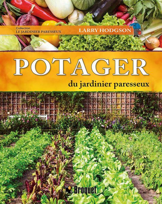 Page couverture du livre Potager du jardinier paresseux
