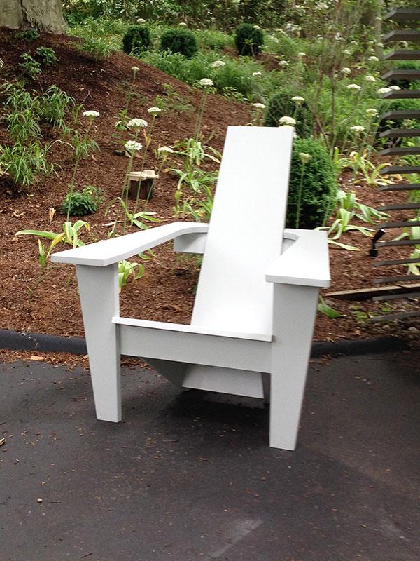 Midcentury Modern Adirondack Chair  Jardinique Classic