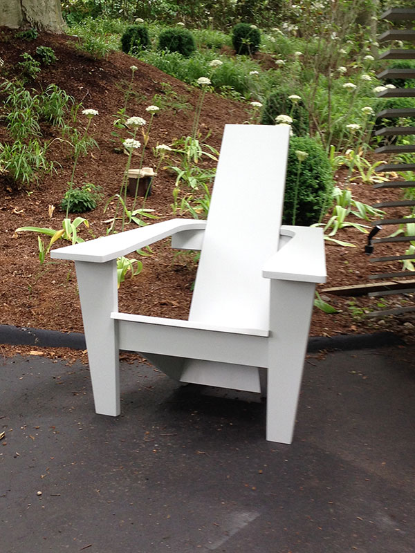 modern style adirondack chairs playroom table and mid-century chair - jardinique classic outdoor furniture