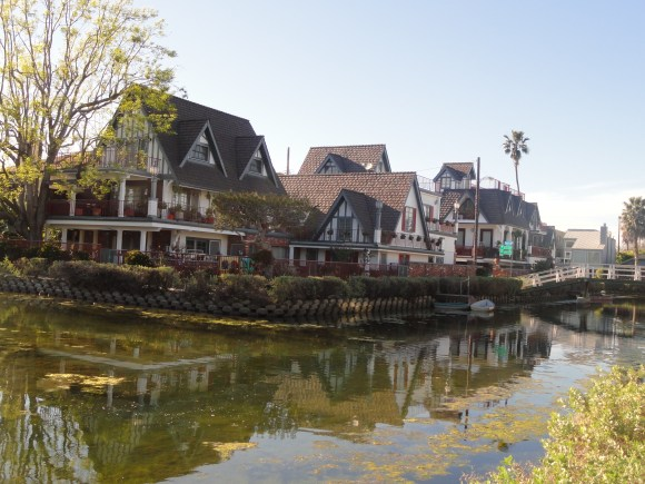 Houses in the Venice Canals
