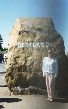 Scotland- crossing the border