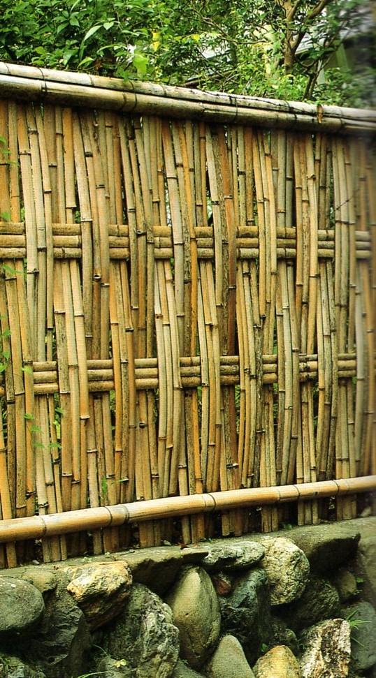 les clotures traditionnelles japonaises