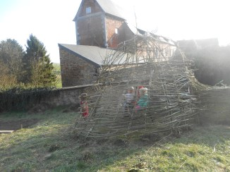 la cabane en saule