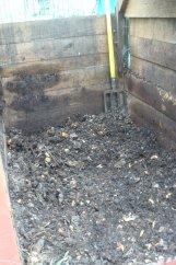 Le compost est vidé