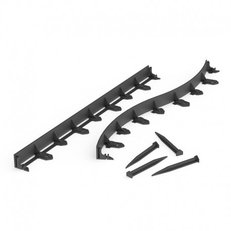 bordure noire flexible multi edge flex