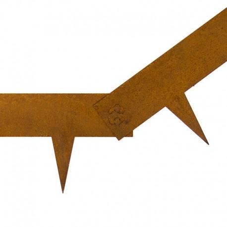 bordure flexible en metal plusieurs coloris multi edge metal