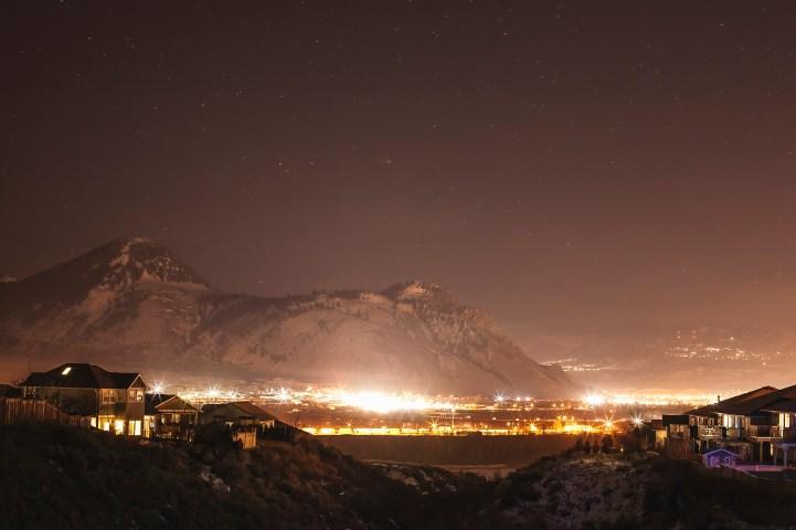 The Lights on Paul Peak