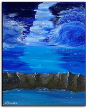 """""""Blue Skies"""" 14"""" x 18"""" Part of the Ramirez Collection"""