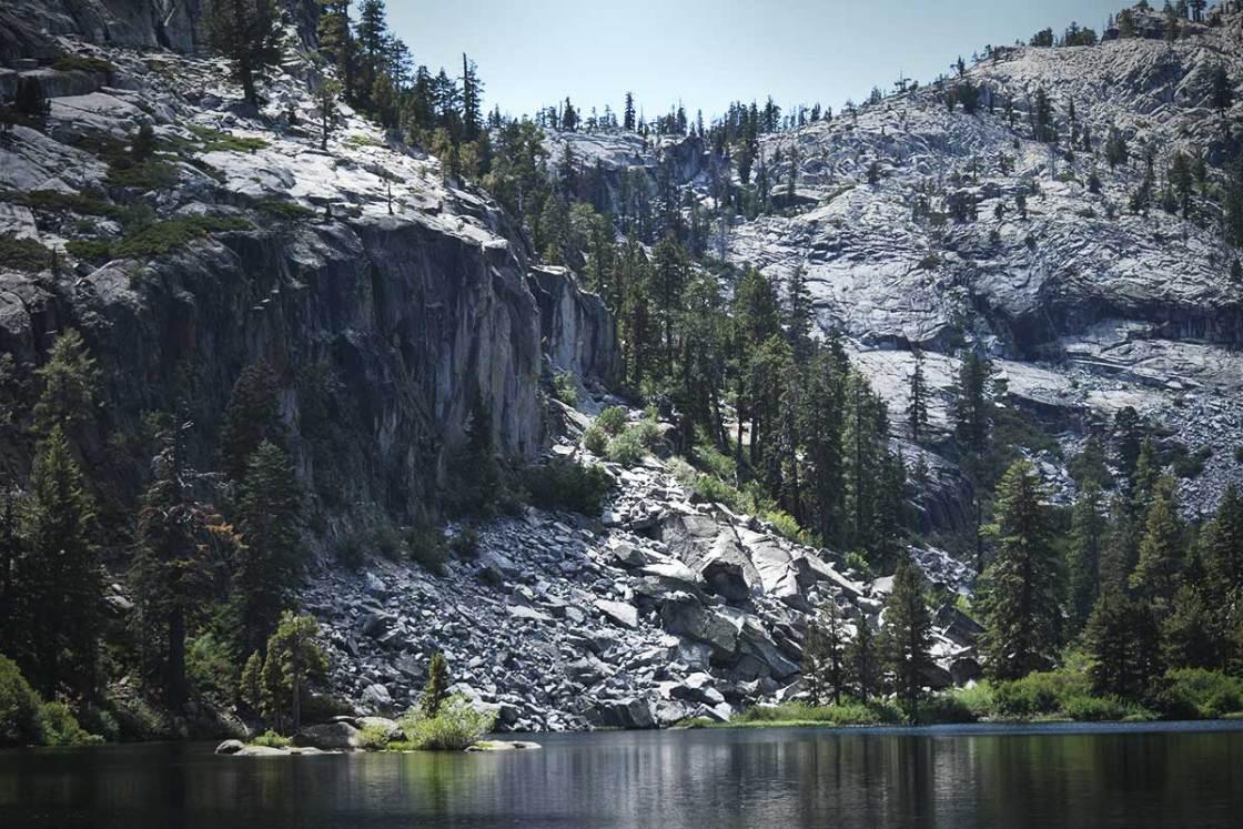 Eagle Lake and walls of granite