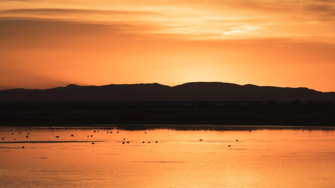 Sunset at Stillwater National Wildlife Refuge