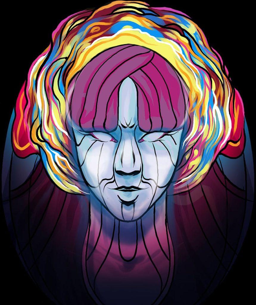 Amoebic Aura Original Illustration