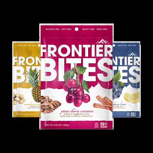 Frontier Bites Granola Packaging Design