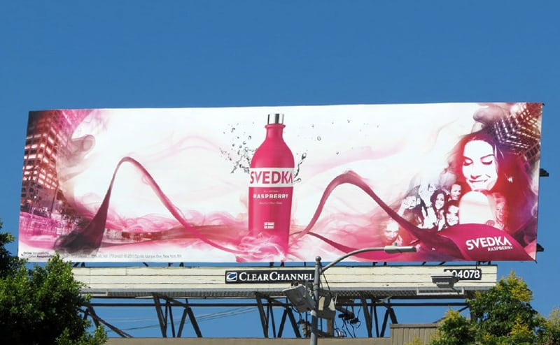 Svedka Out Of Home Campaign Billboard