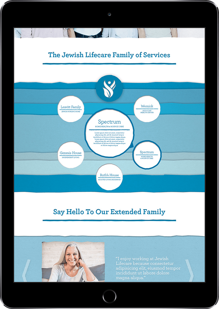 JGS Lifecare Site Design Concept