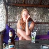 Kate, a G & T, and a beachside bar.