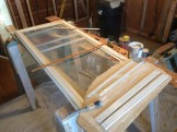A framed screen to go into a door I did last fall.