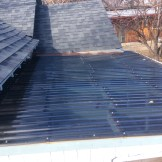 The new roof is on. I guess I will have to wait and see how weatherproof it is. (10/18)