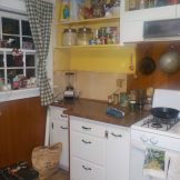 Mid renovation of east kitchen cupboards