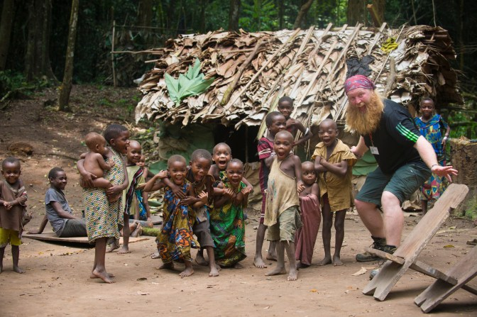 Justin and Mbuti Pygmies