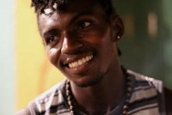 Adelmar dos Santos, a capoeirista known in Salvador as Negro Drama. Salvador, Bahia, Brazil