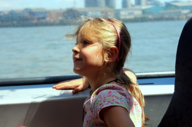 On a river boat