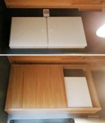 Sähkökaapin peitekaappi - Tammi