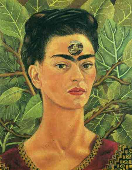 Frida Kahlo, Thinking About Death (1943)