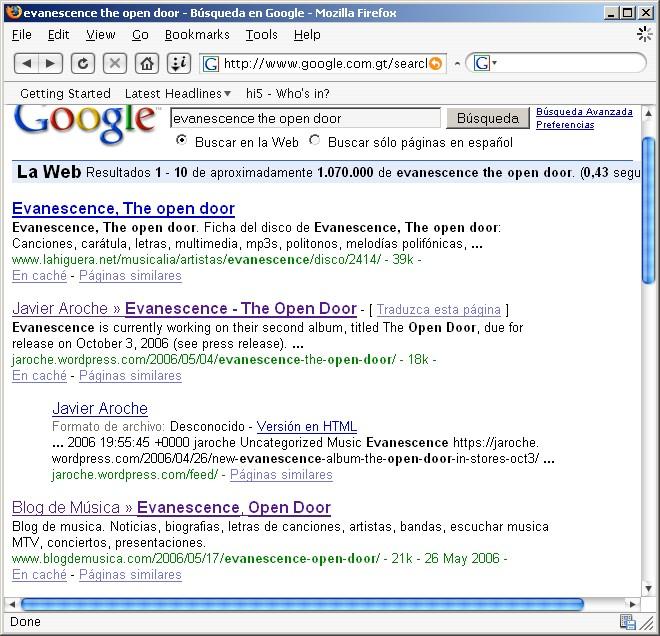 Google Search - Ev Open Door