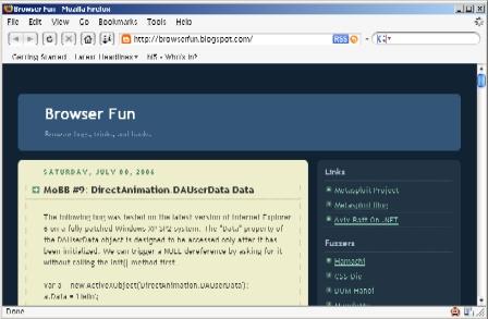 Browser Fun